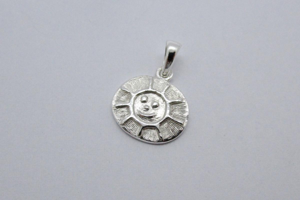 """Anhänger """"Smiling Sun"""" im Online-Shop Schmuckwerkstatt"""