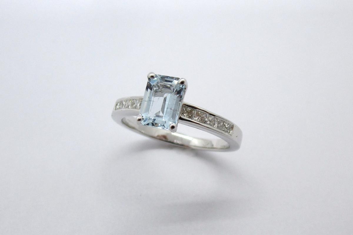"""Ring """"Aqua"""" im Online-Shop Schmuckwerkstatt"""