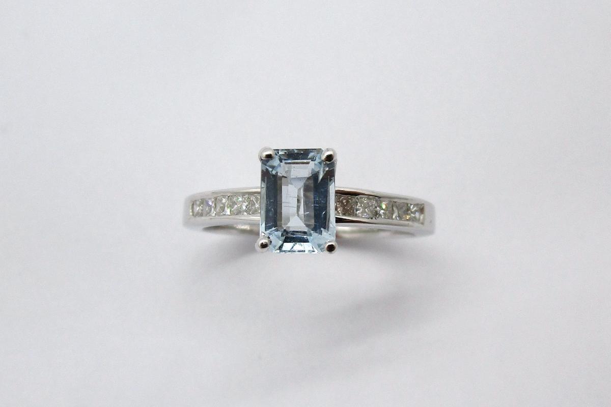 """Ring """"Aqua"""" im Online-Shop der Schmuckwerkstatt"""