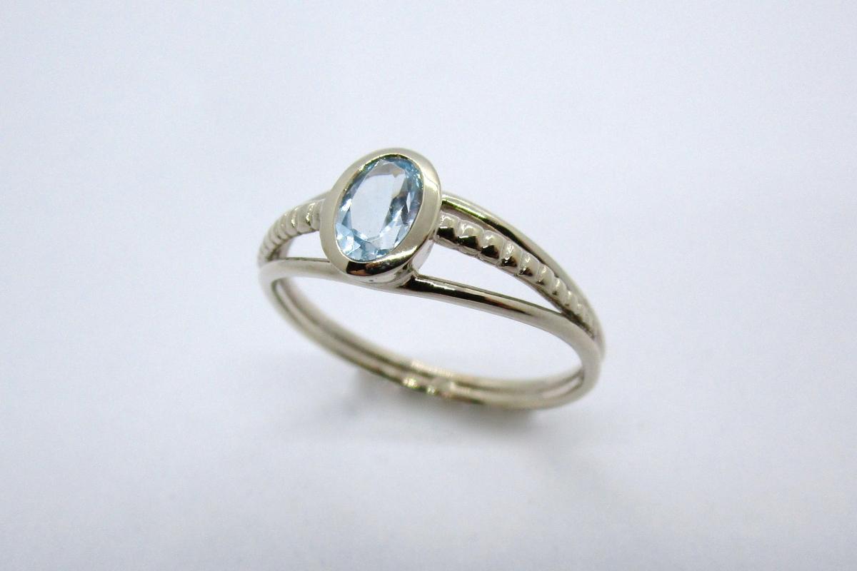 """Ring """"Topas"""" im Online-Shop Schmuckwerkstatt"""
