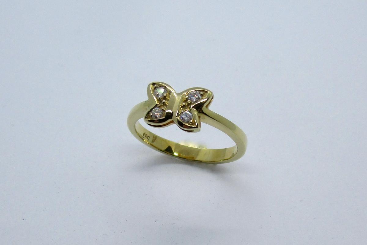 """Ring """"Schmetterling"""" im Online-Shop Schmuckwerkstatt"""