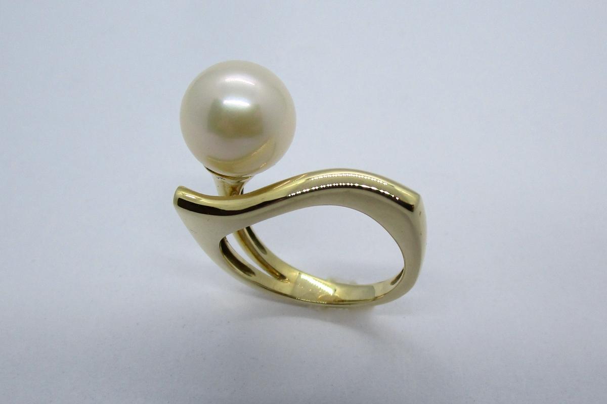"""Ring """"Wellen-Perle"""" im Online-Shop Schmuckwerkstatt"""