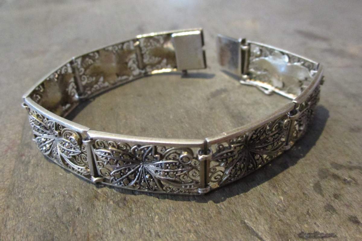 Umarbeitung_Armband_Kette_Silber_vorher  Umarbeitung Armband... - vorher